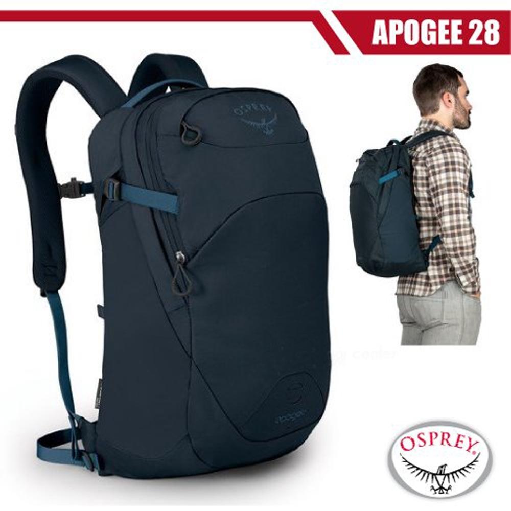 OSPREY 新款 Apogee 28L 超輕多功能城市休閒筆電背包_海妖藍 R