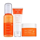 Skin Vitality膚能量 控油保濕防護組 (保濕乳+防曬+潔顏冰淇淋)