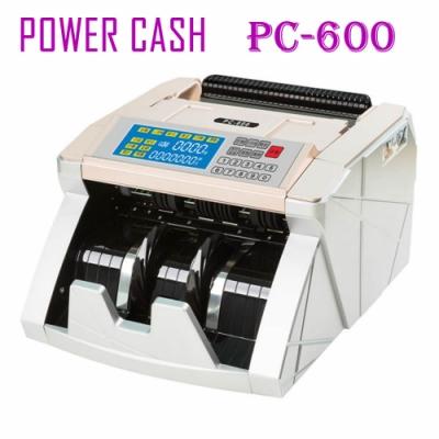 POWER CASH 頂級六國貨幣專業型/金額統計/防偽點驗鈔機PC-600/指定面額功能