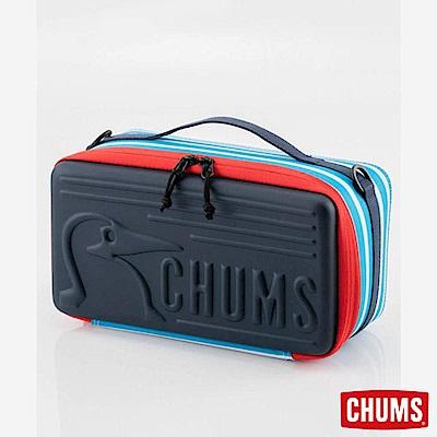 CHUMS 日本 Booby 收納盒 玩具收納箱(M) 藍白條紋