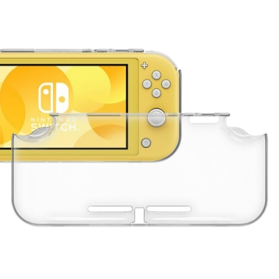 Nintendo任天堂 Switch Lite PC水晶殼硬殼保護套(透明)