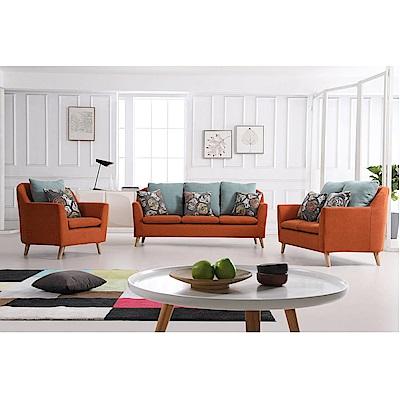 MUNA 詹姆士1+2+3布沙發(全組) 193X76X88cm