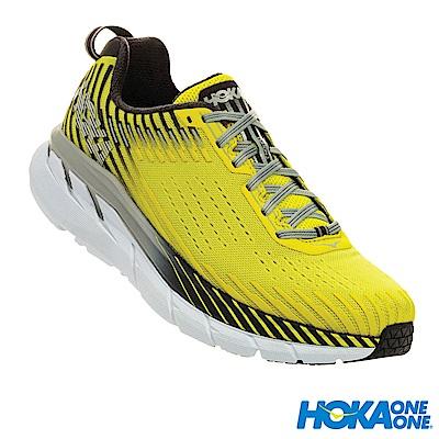 HOKA ONE ONE 男 Clifton 5 路跑鞋 科技網布 春花黃