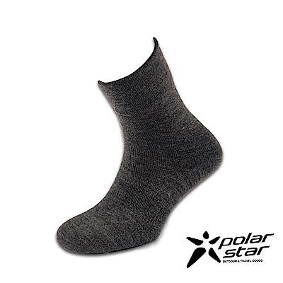 PolarStar 台灣製造 羊毛保暖紳士襪 (3入組)『炭灰』P16618 MIT