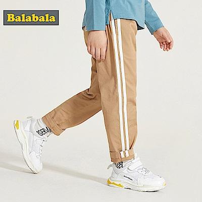 Balabala巴拉巴拉-雙線條造型休閒褲-男(2色)
