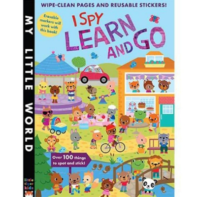 My Little World:I Spy Learn And Go 觀察生活平裝活動書