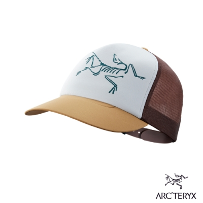 Arcteryx 始祖鳥 LOGO 網帽 駝鹿棕/溶劑褐/提洛斯灰
