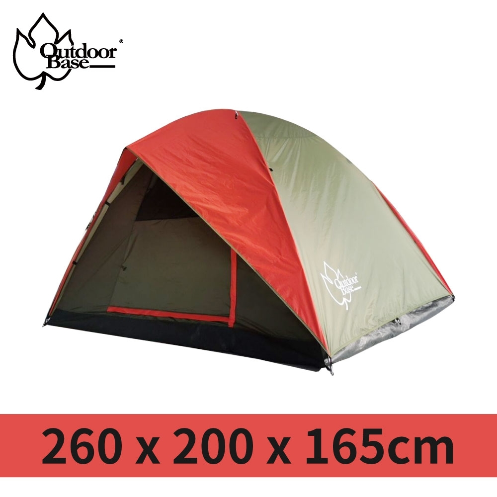【Outdoorbase】蝶舞六人雙門透風帳篷-21317 product image 1