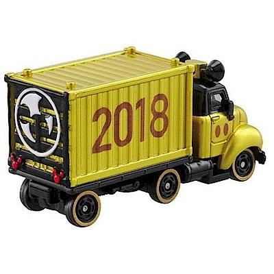 任選TOMICA 迪士尼2018 NEW米奇90週年紀念貨櫃車組 DS11411原廠公司貨