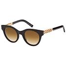 TOD'S 編織系列 太陽眼鏡(深咖啡)