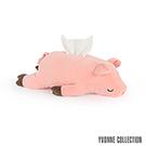 Yvonne Collection 豬豬衛生紙套-粉橘紅