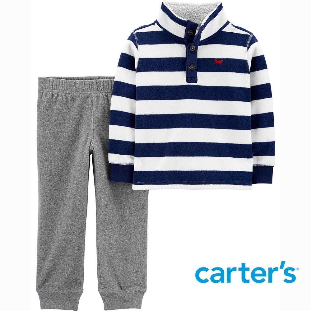 【Carter's】藍白條紋2件組套裝(2T-5T) (上衣/長褲)  (台灣總代理)