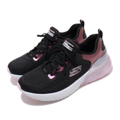 Skechers 慢跑鞋 Skech-Air Stratus 女鞋 運動休閒 氣墊 避震 緩衝 球鞋穿搭 黑 粉 149123BKPK