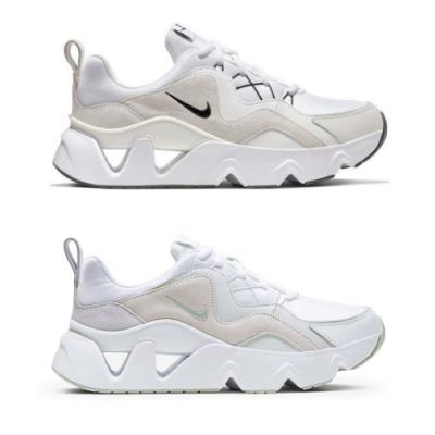 Nike RYZ 365 奶油白/ 蘋果綠 鏤空鋸齒老爹鞋 (兩色可選)