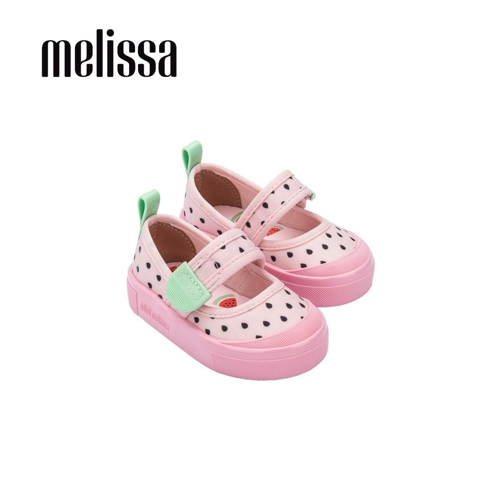 Melissa 可愛水果系列 西瓜造型娃娃鞋 寶寶款 - 粉