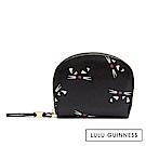 LULU GUINNESS CRESCENT 短夾/零錢包 (KOOKY CAT)