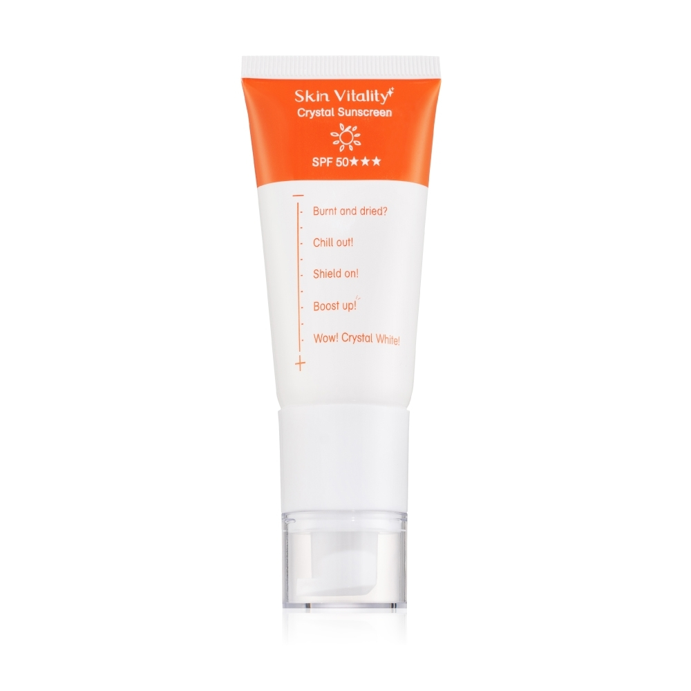 Skin Vitality 膚能量 晶透全方位防曬SPF50★★★ 40g
