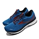 Brooks 慢跑鞋 Ghost 13 運動 男鞋 路跑 緩震 DNA科技 透氣 舒適 球鞋 藍 紅 1103481D435 product thumbnail 2