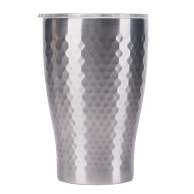 Tiamo 真空錘紋陶瓷隨手杯360ml-原色(HE5165SL)