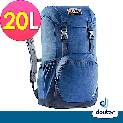 【deuter德國】WALKER休閒旅遊背包20L(3810617紫/深藍)