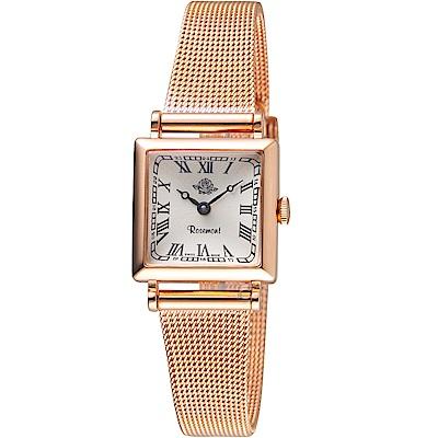 玫瑰錶Rosemont韓劇她的私生活朴敏英同款錶(TNS011-RWR-MT4)-玫瑰金