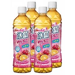 泰山 冰鎮水果茶(535mlx4入)