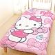 享夢城堡 超柔暖暖毯被150x195cm-HELLO KITTY 蘋果蝴蝶結-粉 product thumbnail 1
