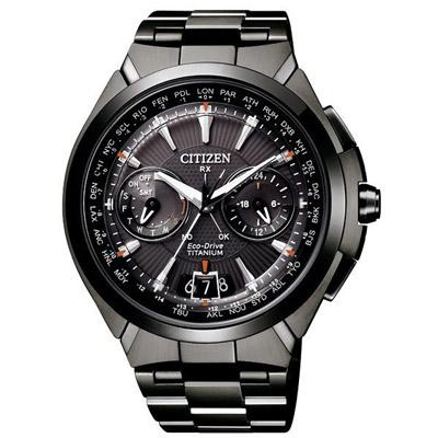 CITIZEN GPS浩瀚星際拋物線日期顯示男錶(CC1085-52E)-黑/46mm