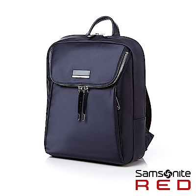 Samsonite RED LINDEL 摩登質感女性筆電後背包13 (海軍藍)