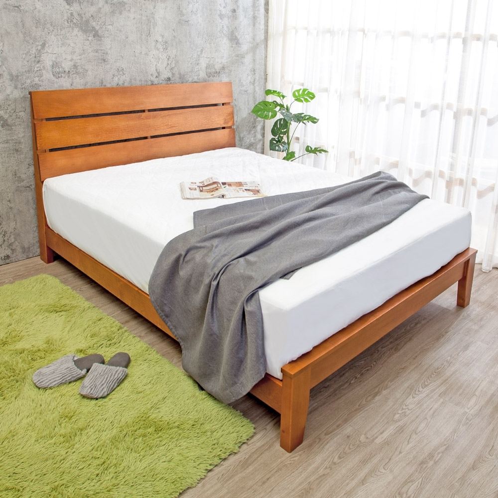 Boden-萊恩6尺加大雙人全實木床架(不含床墊)