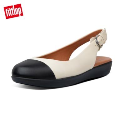 FitFlop CHARLEY 可調式後帶裸跟鞋踝跟鞋-女(白石色)