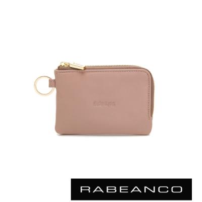 RABEANCO 迷時尚系列鑰匙零錢包 臟粉