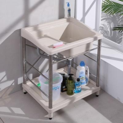 【LOGIS】 72CM*60CM不鏽鋼ABS塑鋼洗衣槽 洗手槽 洗手台
