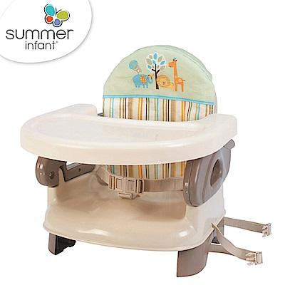 美國品牌 Summer Infant 可攜式活動餐椅 - 綠咖啡色