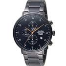 ALBA 雅柏 流星獵狐計時腕錶(AM3665X1)黑/44mm