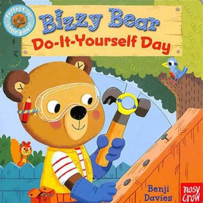 Bizzy Bear:Do-It-Yourself Day 新奇操作書(美國版)