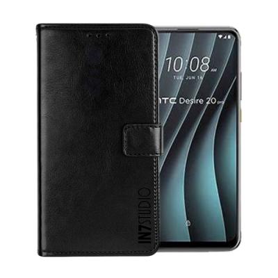 IN7 瘋馬紋 HTC Desire 20 Pro (6.5吋) 錢包式 磁扣側掀PU皮套 手機皮套保護殼