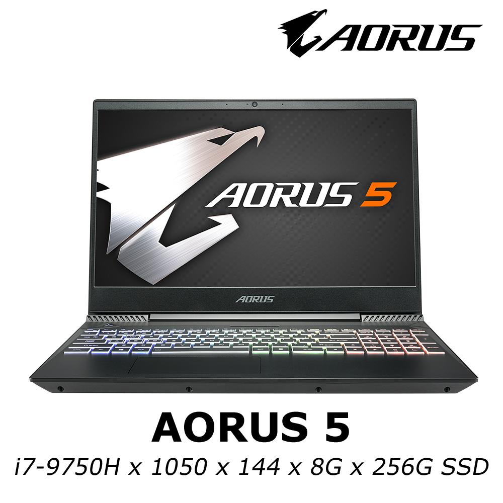 技嘉 AORUS 5 電競筆電 i7-9750H / GTX1050