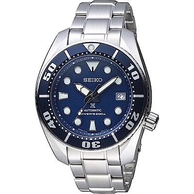 SEIKO PROSPEX 200米專業潛水機械錶(SBDC033J1)藍/45mm