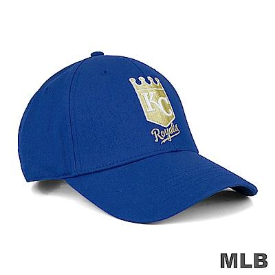 MLB-皇家隊可調式復古復古球帽