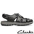 Clarks樂活都市真皮護指涼鞋-CLM33891SS18