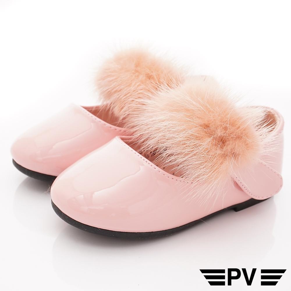 PV日系私藏 氣質毛毛公主鞋款 8126粉(寶寶段)