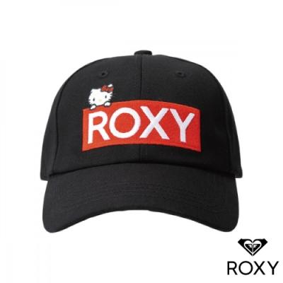 【ROXY】HELLO KITTY 6PANEL 聯名帽 黑色