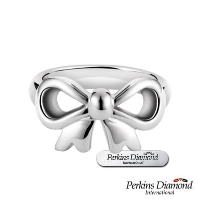 PERKINS 伯金仕 - bowknot系列 925純銀戒指