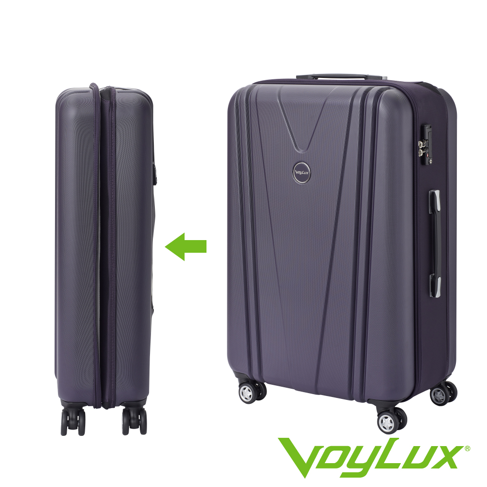 VoyLux伯勒仕-VITALITY系列V型29吋硬殼收摺旅行箱-紫色 3788917