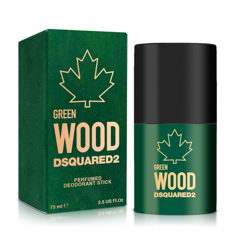 DSQUARED2 GREEN WOOD 心動綠男性體香膏75ml product image 1
