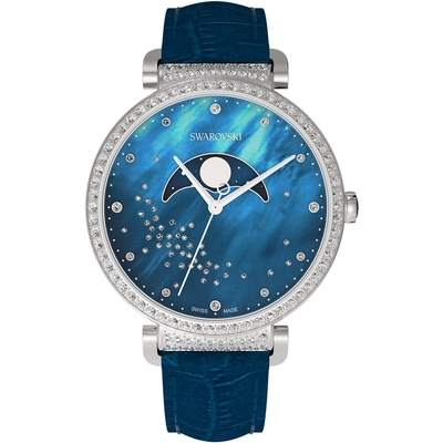 SWAROVSKI施華洛世奇 Passage Moon Phase星河登月腕錶 5613320