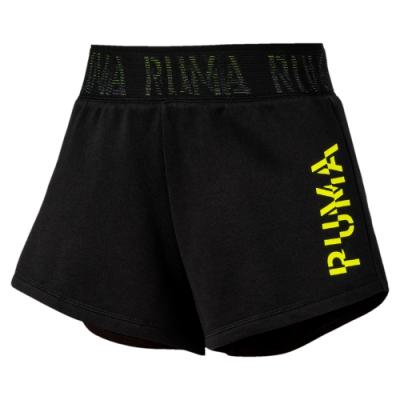 PUMA-女性訓練系列PUMA 3吋短褲-黑色-歐規
