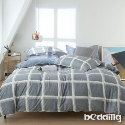 BEDDING-活性印染-特大6x7薄式床包枕套三件式-巴比倫