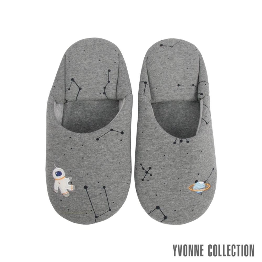 Yvonne Collection 星空日式拖鞋-暗灰L